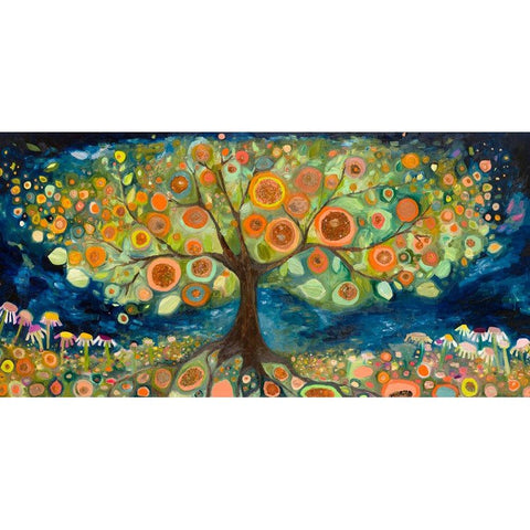 Orange Tree Landscape ~ Framed Giclee Canvas - Cece & Me - Home and Gifts