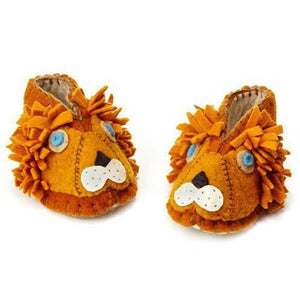 Baby Booties (6-12 mo.) ~  Lion - Cece & Me - Home and Gifts