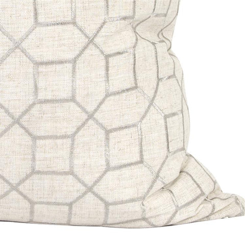 Trellis Pillow ~ Natural