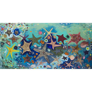 Metallic Starfish ~ Framed Giclee Canvas - Cece & Me - Home and Gifts