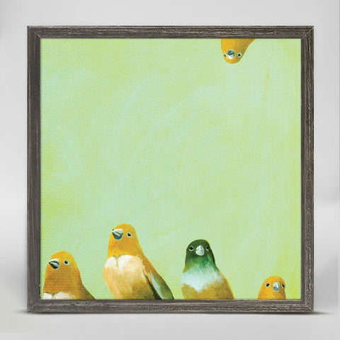 Family of Feathers ~ Giclee Canvas - Cece & Me - Home and Gifts