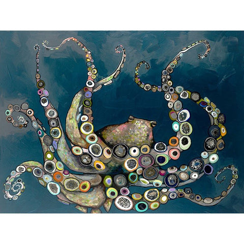 Image of Octopus in the Deep Blue Sea - Cece & Me - Home and Gifts