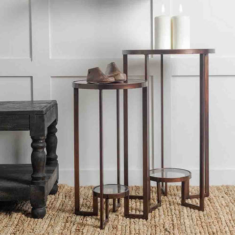 Image of Renshaw Accent Tables (Set of 2) - Cece & Me - Home and Gifts