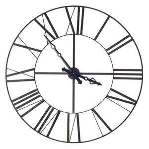 Pender Oversized Iron Wall Clock - Cece & Me - Home and Gifts