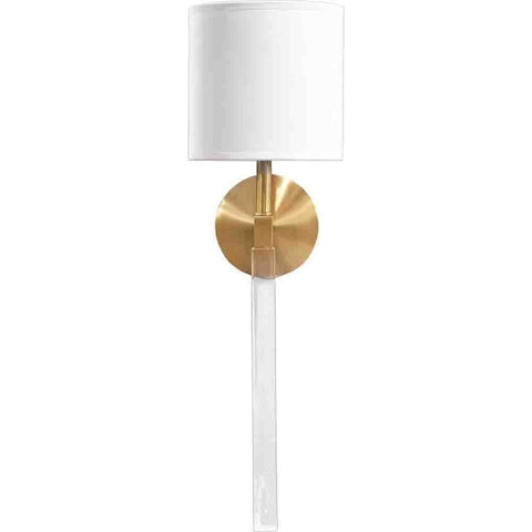 Santander Wall Sconce ~ Gold - Cece & Me - Home and Gifts