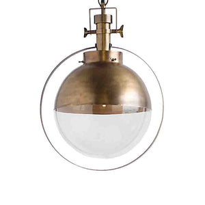 Leighton Pendant Light ~ Gold - Cece & Me - Home and Gifts