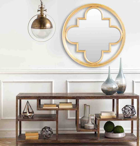 Image of Leighton Pendant Light ~ Gold - Cece & Me - Home and Gifts
