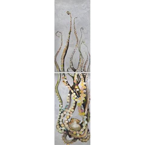 Octopus Diptych ~ Giclee Canvas - Cece & Me - Home and Gifts