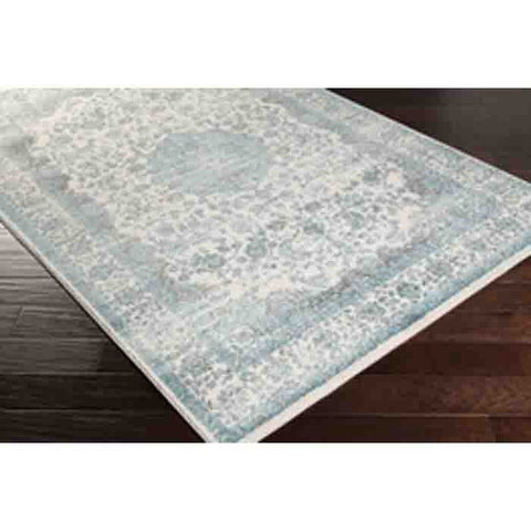 Image of Aberdine Rug ~ Aqua - Cece & Me - Home and Gifts