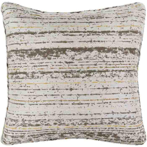 Arie Pillow ~ Brown/Camel/Mustard/Light Gray - Cece & Me - Home and Gifts