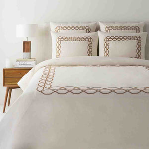 Bala Bedding ~ Cream & Tan - Cece & Me - Home and Gifts