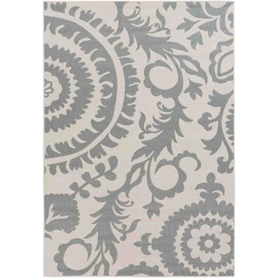 Alger Outdoor Rug ~ Sage & Cream - Cece & Me - Home and Gifts