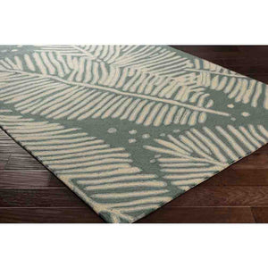 Alfresco Outdoor Rug ~ Blue & Cream