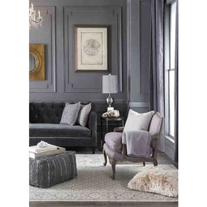Anthracite Pouf ~ Gray