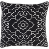 Adagio Pillow ~ Black - Cece & Me - Home and Gifts