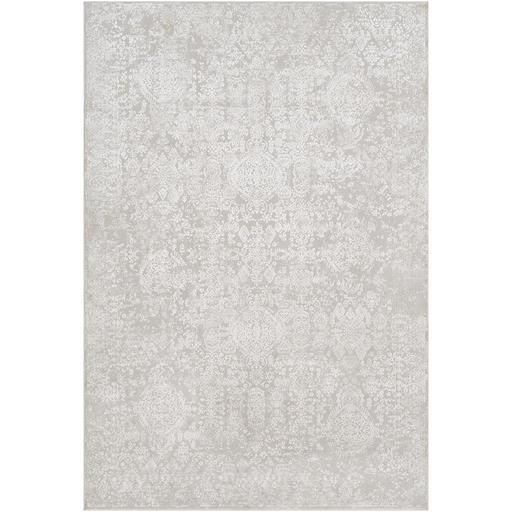 Aisha Rug ~ Light Gray & White - Cece & Me - Home and Gifts