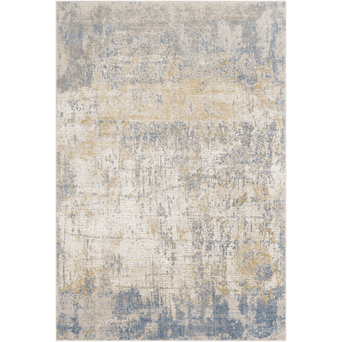 Image of Aisha Rug ~ Sky Blue/Camel/Taupe - Cece & Me - Home and Gifts