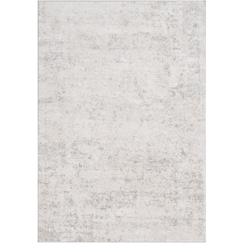 Aisha Rug ~ White & Light Gray - Cece & Me - Home and Gifts