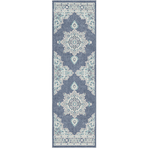 New Alfresco Outdoor Rug ~ Charcoal/Aqua/Taupe - Cece & Me - Home and Gifts