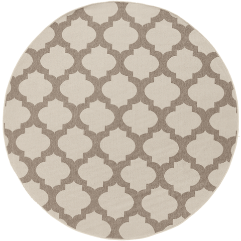 Image of Alfresco Outdoor Rug ~ Cream & Camel - Cece & Me - Home and Gifts