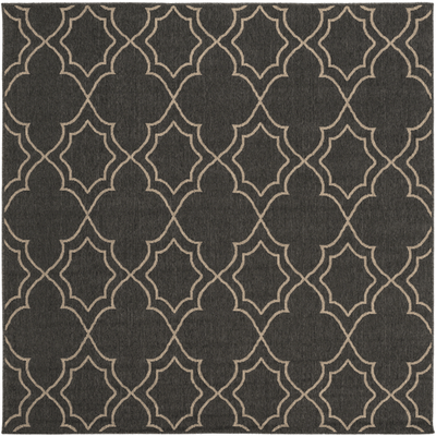 Alfresco Outdoor Rug II ~ Black & Cream - Cece & Me - Home and Gifts