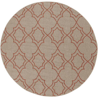 Alfresco Outdoor Rug II ~ Camel & Rust - Cece & Me - Home and Gifts