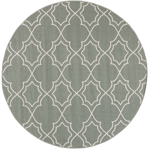 Image of Alfresco Outdoor Rug II ~ Sage & Cream - Cece & Me - Home and Gifts