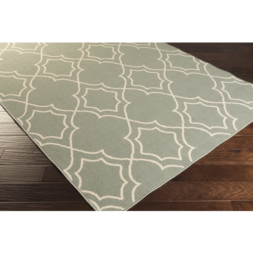 Alfresco Outdoor Rug II ~ Sage & Cream - Cece & Me - Home and Gifts