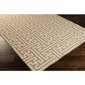 Alfresco Outdoor Rug IV ~ Camel & Cream - Cece & Me - Home and Gifts