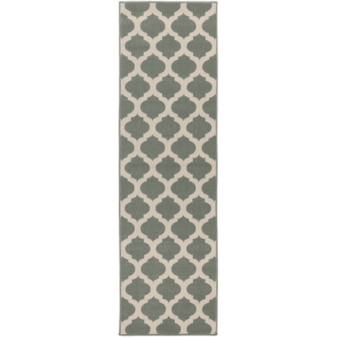 Alfresco Outdoor Rug ~ Sage & Cream - Cece & Me - Home and Gifts