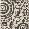 Alger Outdoor Rug ~ Black & Cream - Cece & Me - Home and Gifts