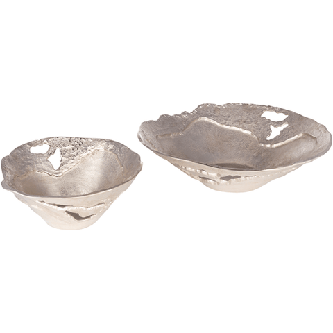 Ambrosia Bowl ~ Silver (Set of 2) - Cece & Me - Home and Gifts