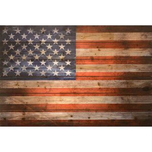 American Dream ~ Solid Fir Wood Planks - Cece & Me - Home and Gifts