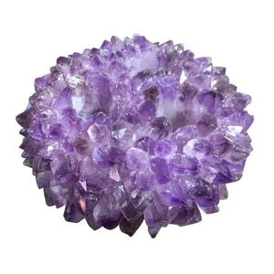 Amethyst Three Candle Holder - Cece & Me - Home and Gifts