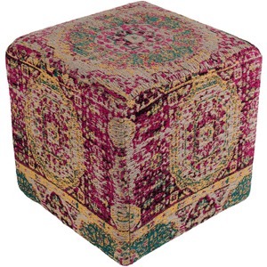 Amsterdam Pouf ~ Saffron - Cece & Me - Home and Gifts