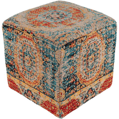 Amsterdam Pouf ~ Teal - Cece & Me - Home and Gifts