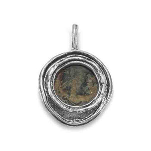 Ancient Roman Coin Pendant - Cece & Me - Home and Gifts