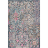 Antigua Rug ~ Bright Pink/Camel/Navy - Cece & Me - Home and Gifts