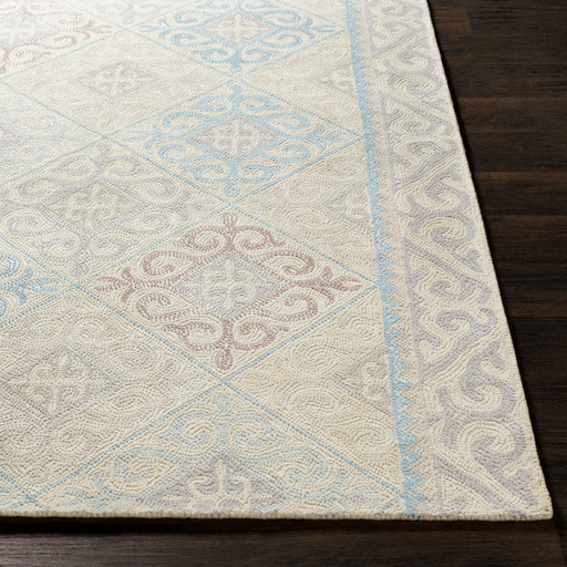Antigua Rug ~ Denim/Gray/Beige - Cece & Me - Home and Gifts