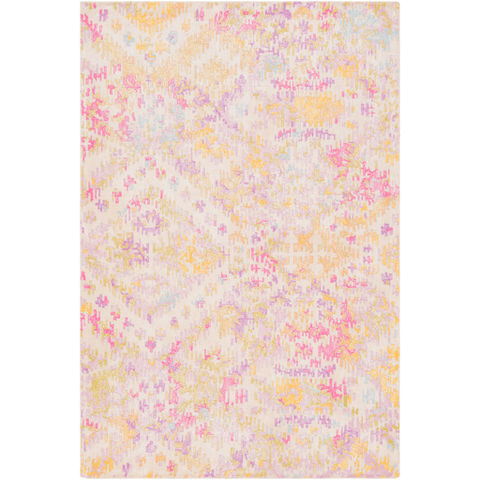 Antigua Rug ~ Lilac/Bright Pink/Beige - Cece & Me - Home and Gifts