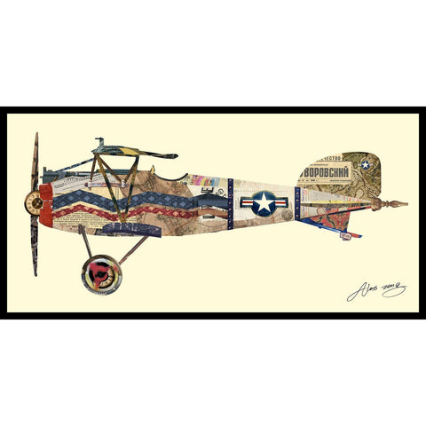 Antique Biplane Collage #3 - Cece & Me - Home and Gifts