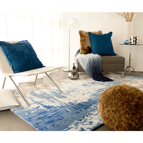 Image of Antonis Rug ~ Blue - Cece & Me - Home and Gifts