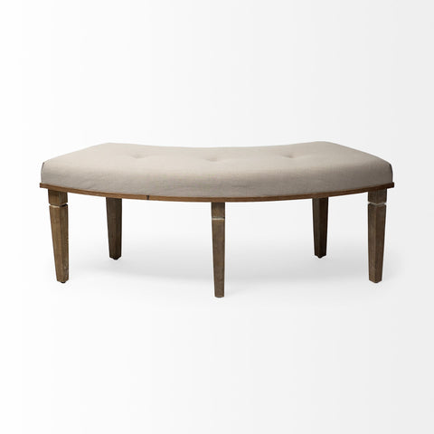 Aponas Curved Bench - Cece & Me - Home and Gifts