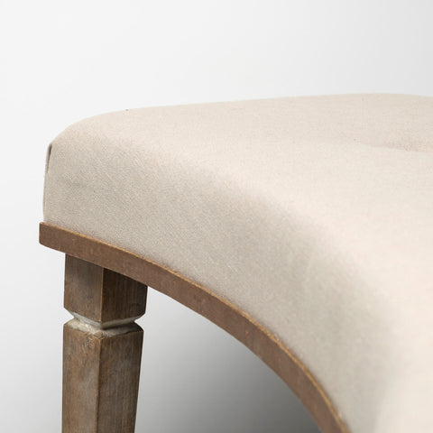 Image of Aponas Curved Bench - Cece & Me - Home and Gifts