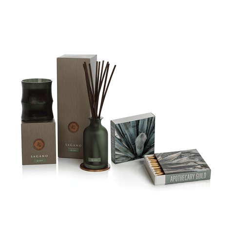Image of Apothecary Guild Sagano Gift Set ~ Fig Vetiver - Cece & Me - Home and Gifts