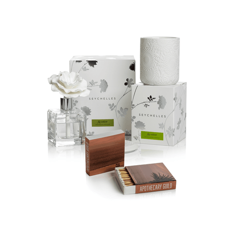 Apothecary Guild Seychelles Gift Set ~ Fig Vetiver - Cece & Me - Home and Gifts