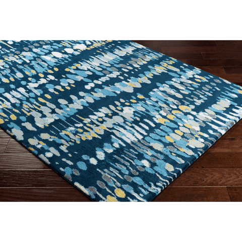 Image of Apricity Rug ~ Navy - Cece & Me - Home and Gifts