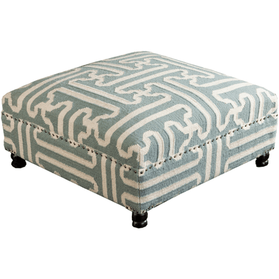 Archive Ottoman ~ Sage - Cece & Me - Home and Gifts