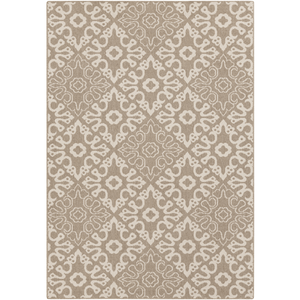 Areles Outdoor Rug ~ Camel & Cream - Cece & Me - Home and Gifts