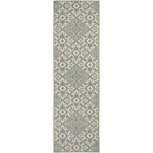 Areles Outdoor Rug ~ Sage & Cream - Cece & Me - Home and Gifts